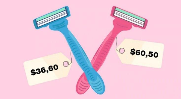 Impuesto rosa: las mujeres pagan un 15% más que los hombres en el mismo producto