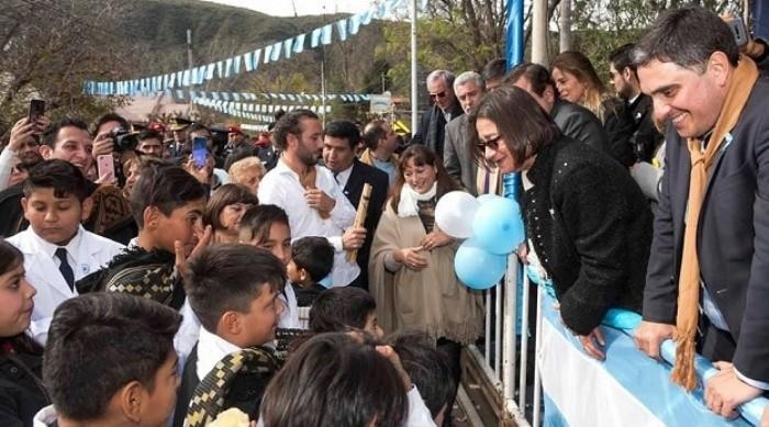 Corpacci presidió el festejo Patrio en El Rodeo