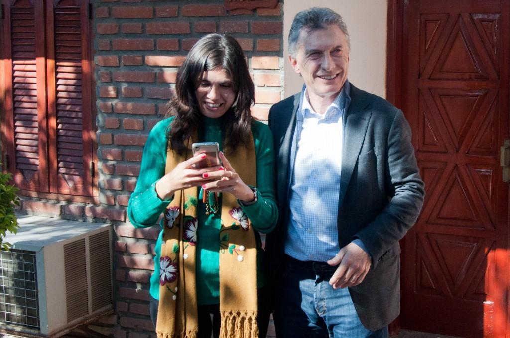 Mauricio Macri: Quería compartir con ellos y destacar la importancia de la Ley Justina