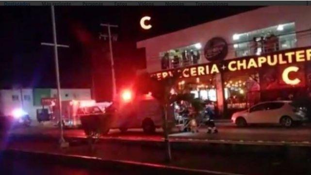 Video impactante de masacre en Playa del Carmen