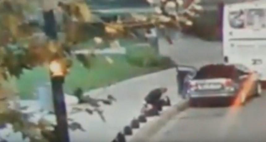 Video: así fue el ataque al diputado Héctor Olivares