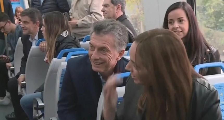 Mauricio Macri inauguró el viaducto del tren Mitre junto a María Eugenia Vidal y Horacio Rodríguez Larreta