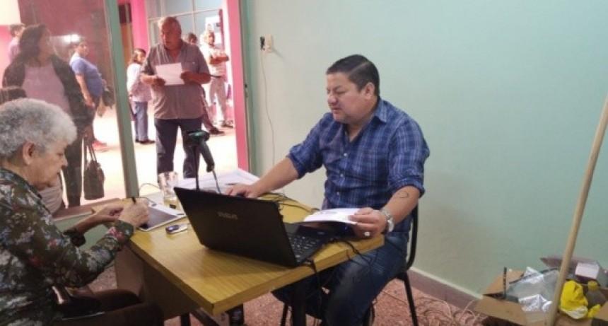 Renovación de carnés de OSEP a afiliados de Pomán
