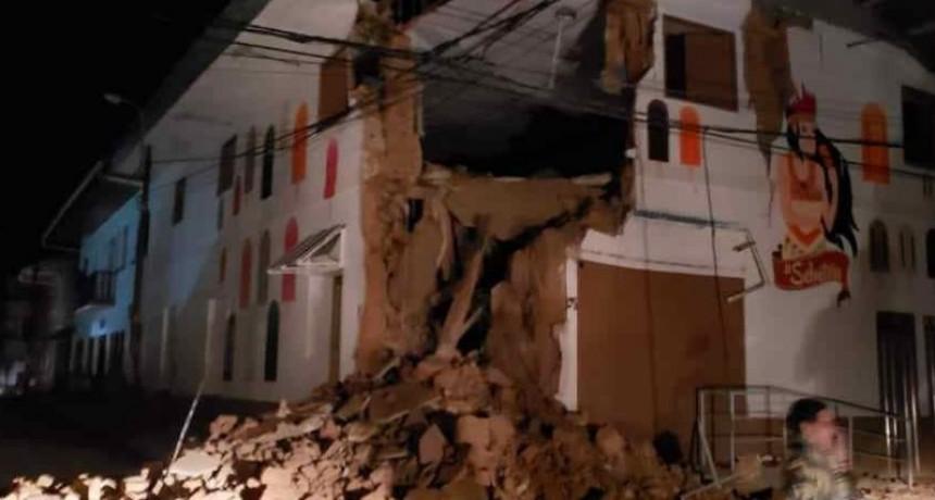 Fuerte sismo sorprendió a Perú, Colombia y Ecuador durante la madrugada