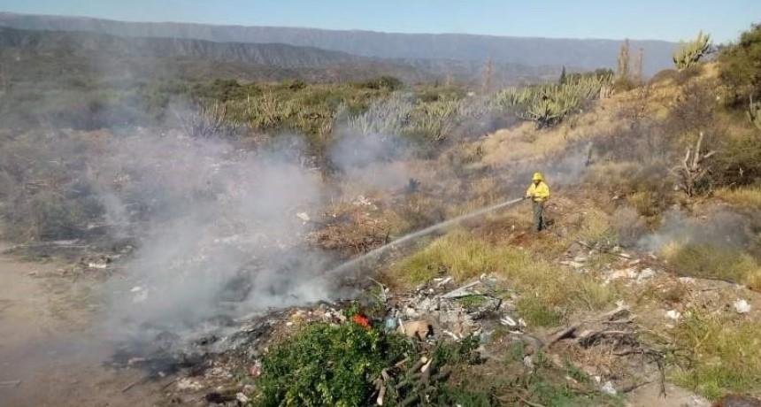 Incendios en patizales de FME y Capital