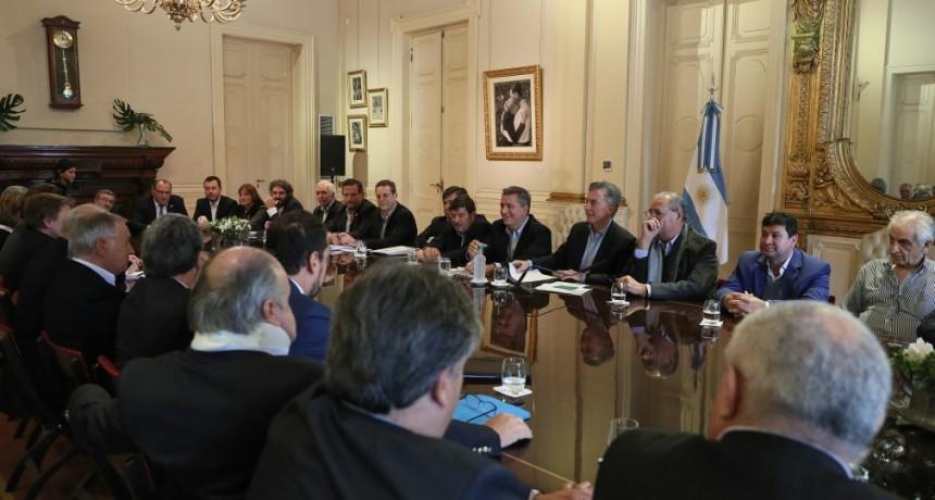 Mauricio Macri se reunió con la Mesa de Carne