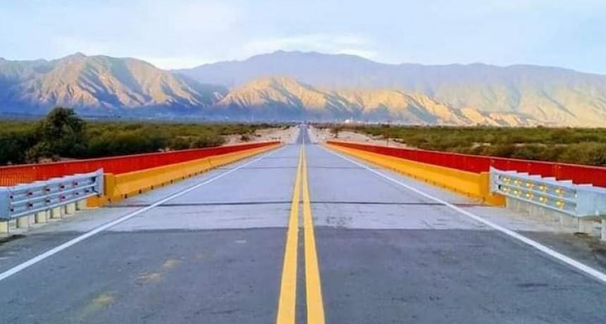 El Gobierno Nacional pavimentó más de 50 km de la RP 46 entre Andalgalá y Belén