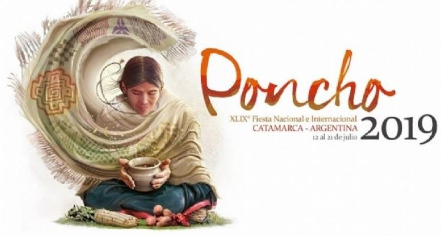 Se presentó el logo de la Fiesta Nacional e Internacional del Poncho 2019