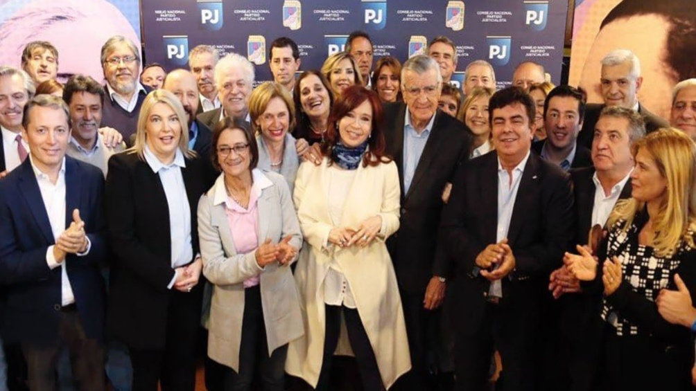 Cristina Kirchner se puso a