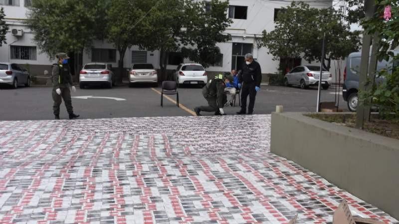 Decomisan 29.550 paquetes de cigarrillos en Las Salinas