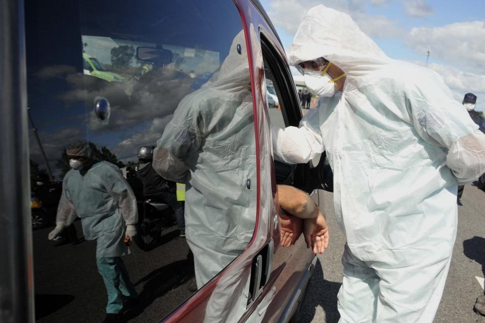 Con 345 nuevos casos, Argentina registró otro récord de contagios diarios