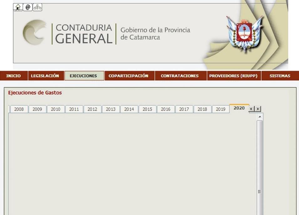 El Gobierno continúa sin publicar información pública referida a la situación económica- financiera de la Provincia