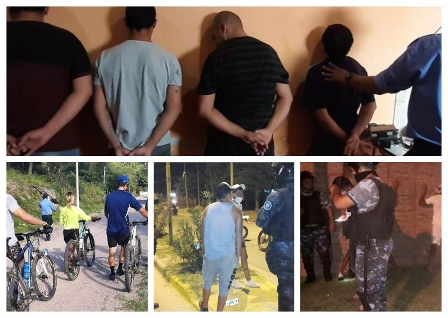 A 60 días del Aislamiento social, preventivo y obligatorio 3.409 personas fueron detenidas en toda la provincia