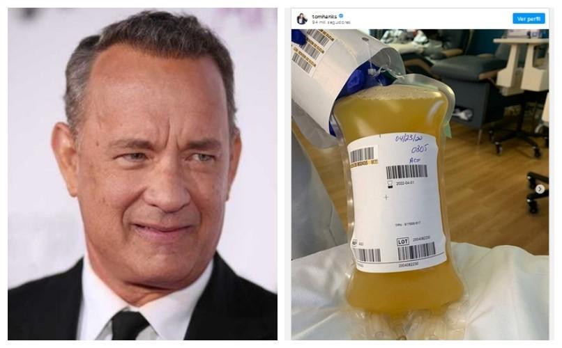 Tom Hanks vuelve a donar plasma para luchar contra al coronavirus