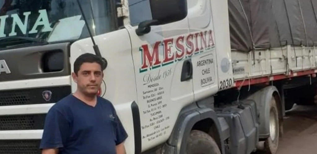 Parece la época de la lepra, dice un camionero que cruza el país llevando alimentos