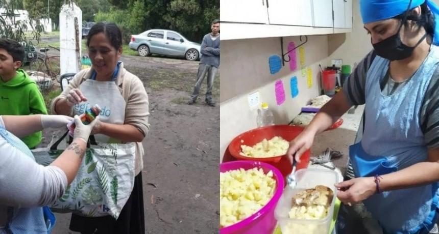 Entraron a robar a un comedor comunitario y se llevaron hasta las ollas