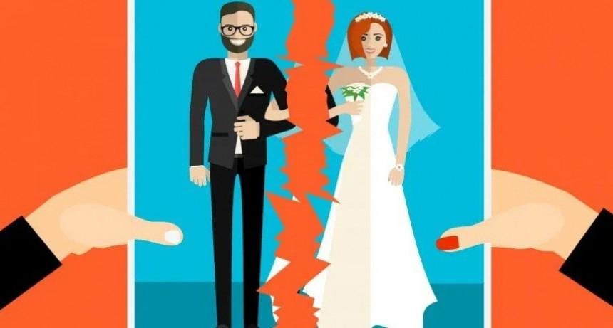 Récord de divorciados durante la cuarentena