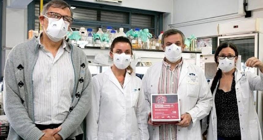 Presentan kit para testeos masivos por saliva hecho por científicos argentinos