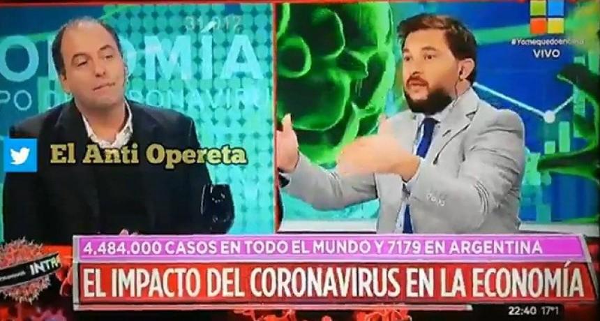 Brancatelli culpó al coronavirus por la crisis económica y un especialista lo dejó sin palabras