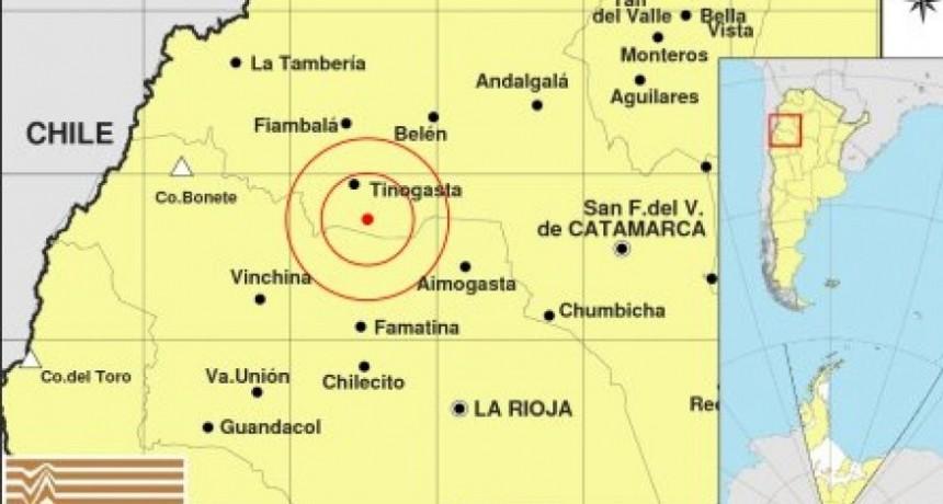 Temblor en Catamarca: Se registró un sismo de grados 3.8 esta mañana