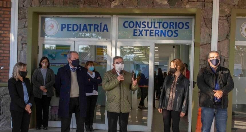 Jalil y Zenteno inauguraron  refacciones y mejoras en el hospital de Villa Dolores