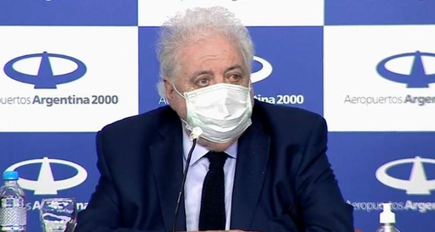 González García estimó el pico máximo podría ser a fines de junio
