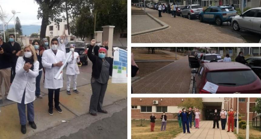 Médicos catamarqueños se sumaron a la protesta Nacional