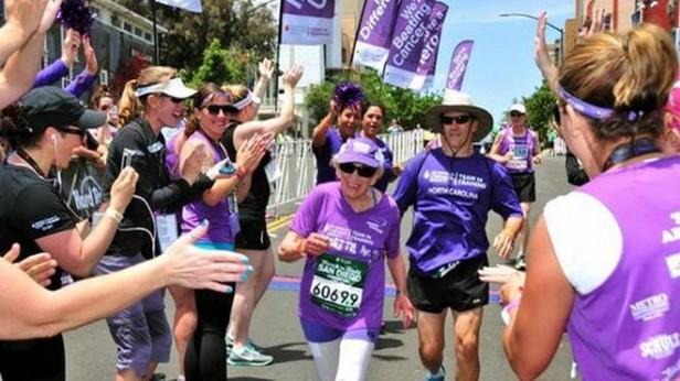 Abuela récord: Tiene 92 años y Completó una Maratón