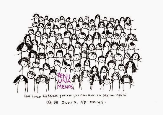 #NiUnaMenos en imagenes