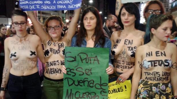 Histórica Marcha contra la violencia machista a Nivel País