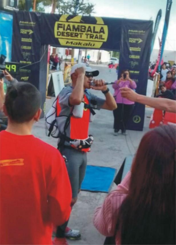 Sergio Bustos se quedó con la Ultra Maratón del Fiambala Desert Trail