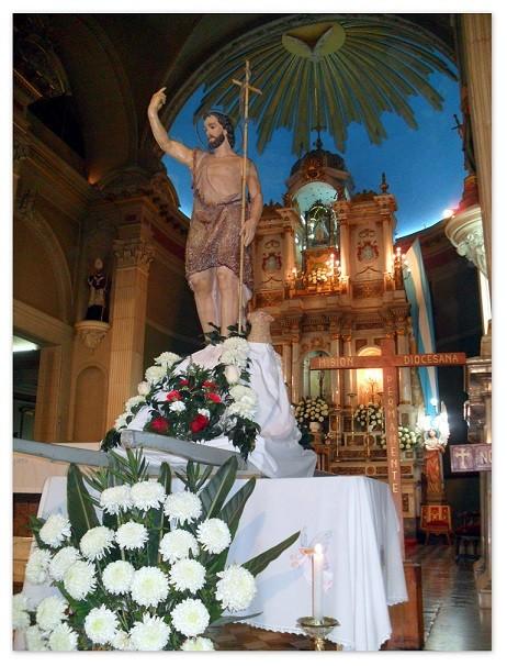 Actos por San Juan Bautista en Capital