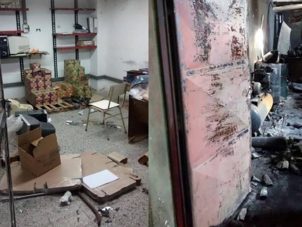 Ladrones incendiaron la Fábrica Tileye para ocultar el Robo