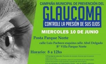 La Campaña contra el Glaucoma llega al Bº Parque Norte