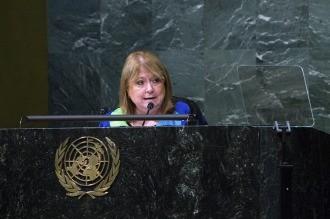 Según un medio británico, Estados Unidos apoyará a Malcorra para la ONU