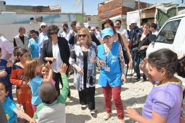 La llegada de tres mil refugiados sirios, un hecho inédito de ayuda humanitaria