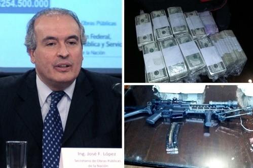 Detuvieron a José López, el ex número dos de Julio De Vido: intentaba esconder millones de dólares