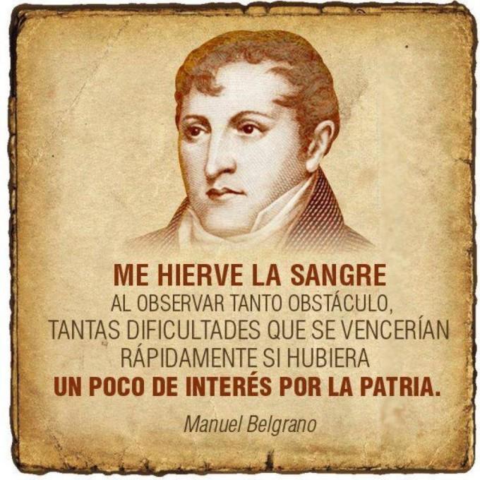 El general Manuel Belgrano: el pensamiento y la acción