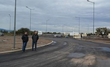 Culminaron la intersección de acceso al nuevo Mercado de Abasto Municipal