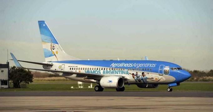 Actualizarán vuelos de Argentina a Rusia para el Mundial 2018