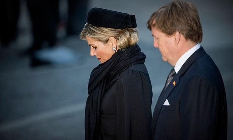 Máxima vendrá junto al Rey Guillermo para el funeral de su hermana
