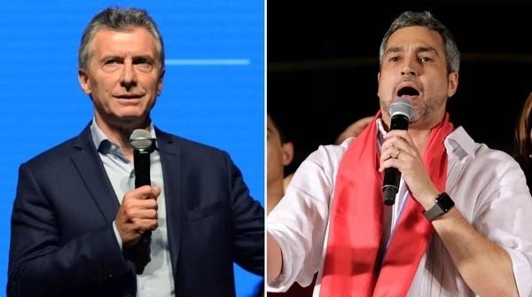 Macri almuerza con el presidente electo de Paraguay