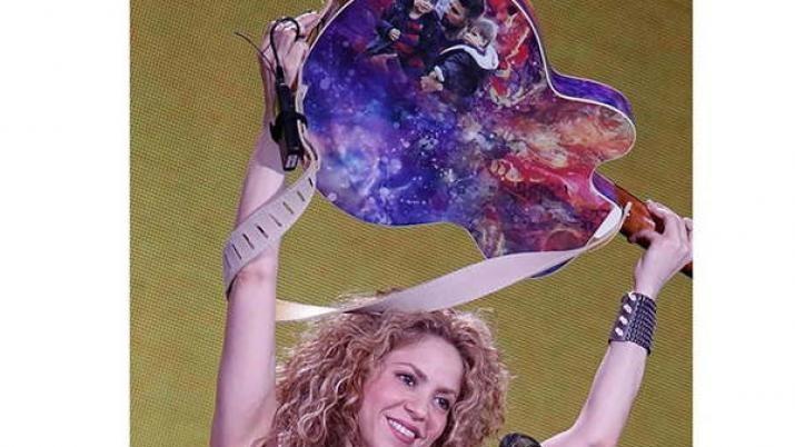 Shakira desmintió su separación con una foto