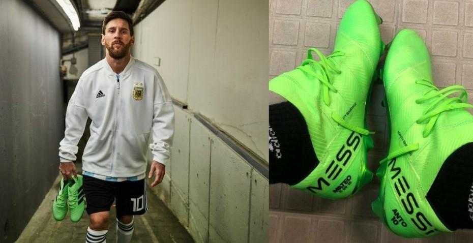 Estos son los botines que van a usar Messi, Agüero, Ronaldo y Neymar en Rusia 2018