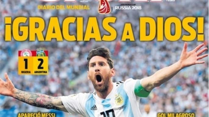 Las repercusiones en el mundo del triunfo argentino