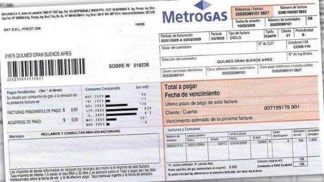 Ya podés pagar en tres cuotas el 25% del consumo de gas