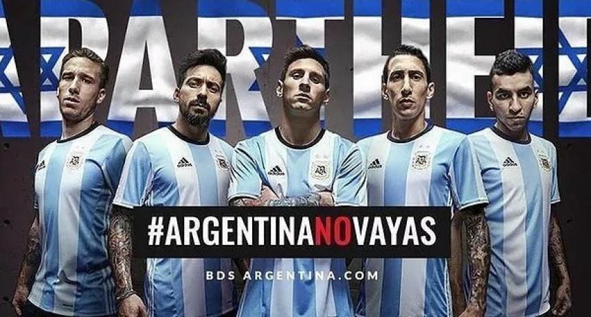 """""""Argentina No Vayas, no hay nada de amistoso"""""""