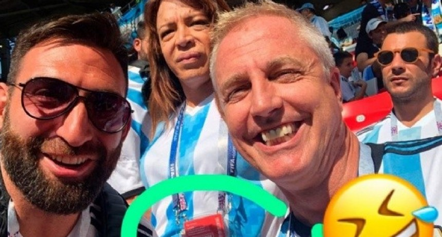 Lizy Tagliani se rió de su acreditación para el Mundial y estallaron las redes