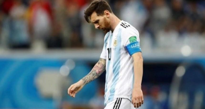 Argentina fue goleada por Croacia y quedó al borde de la eliminación