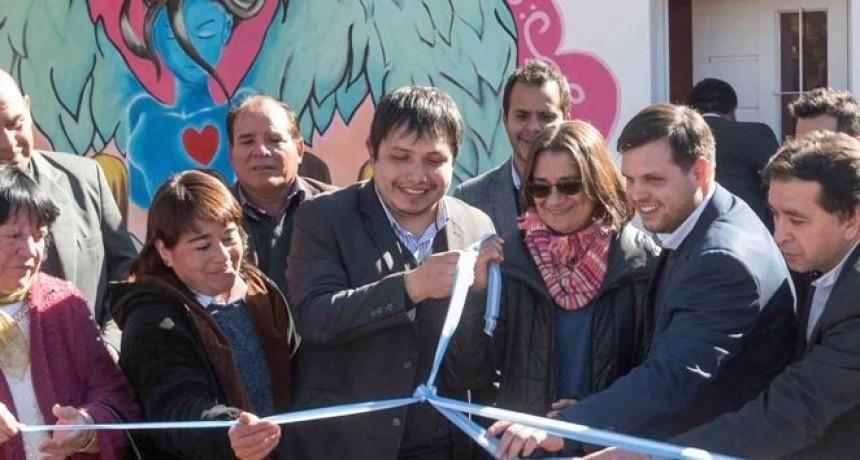 """Corpacci y Menecier dejaron inaugurado la Casa de la Mujer """"Quariyay"""""""
